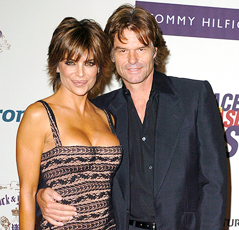 Lisa Rinna and Harry Hamlin - 2005