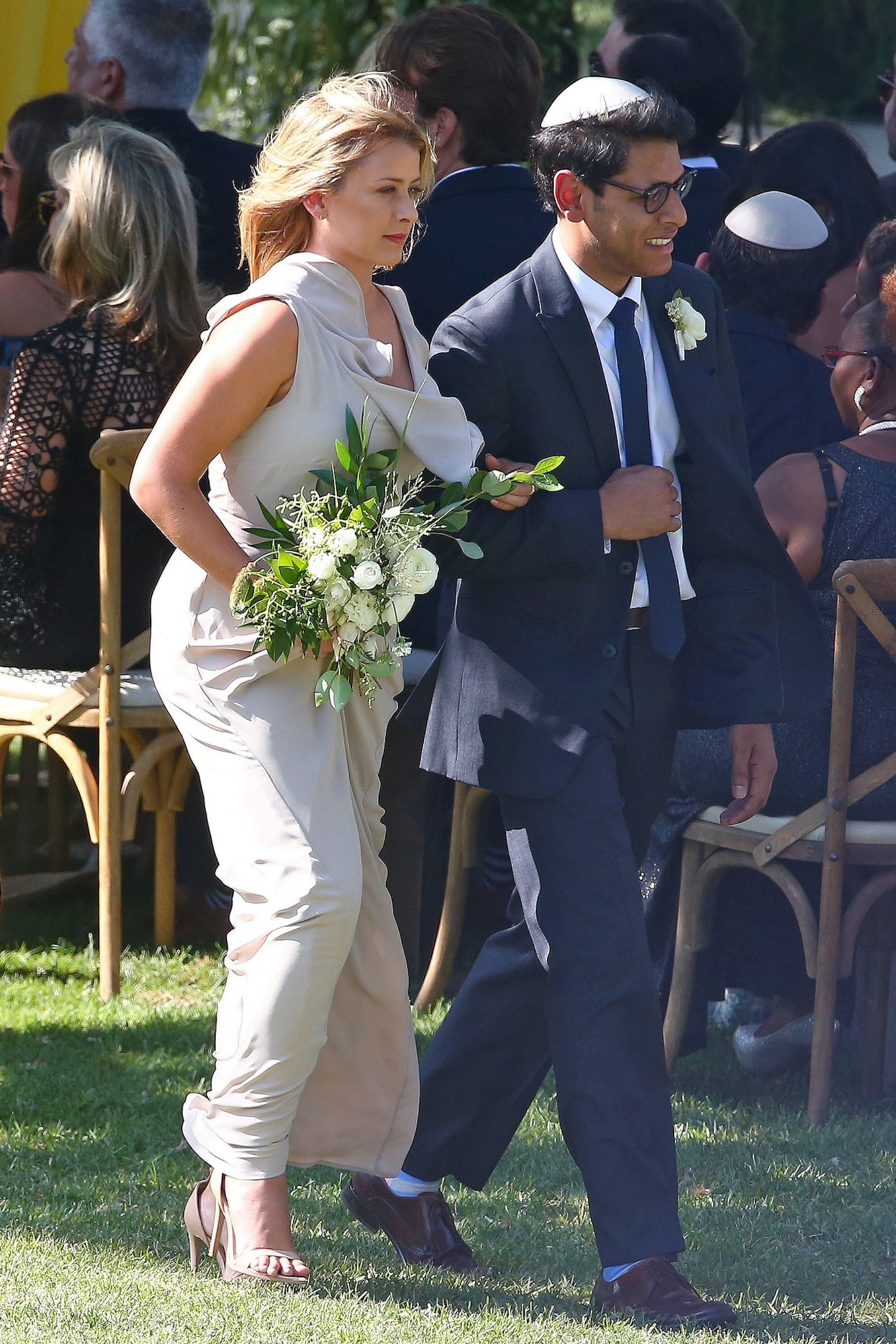 Lo Bosworth, bridesmaid, wedding
