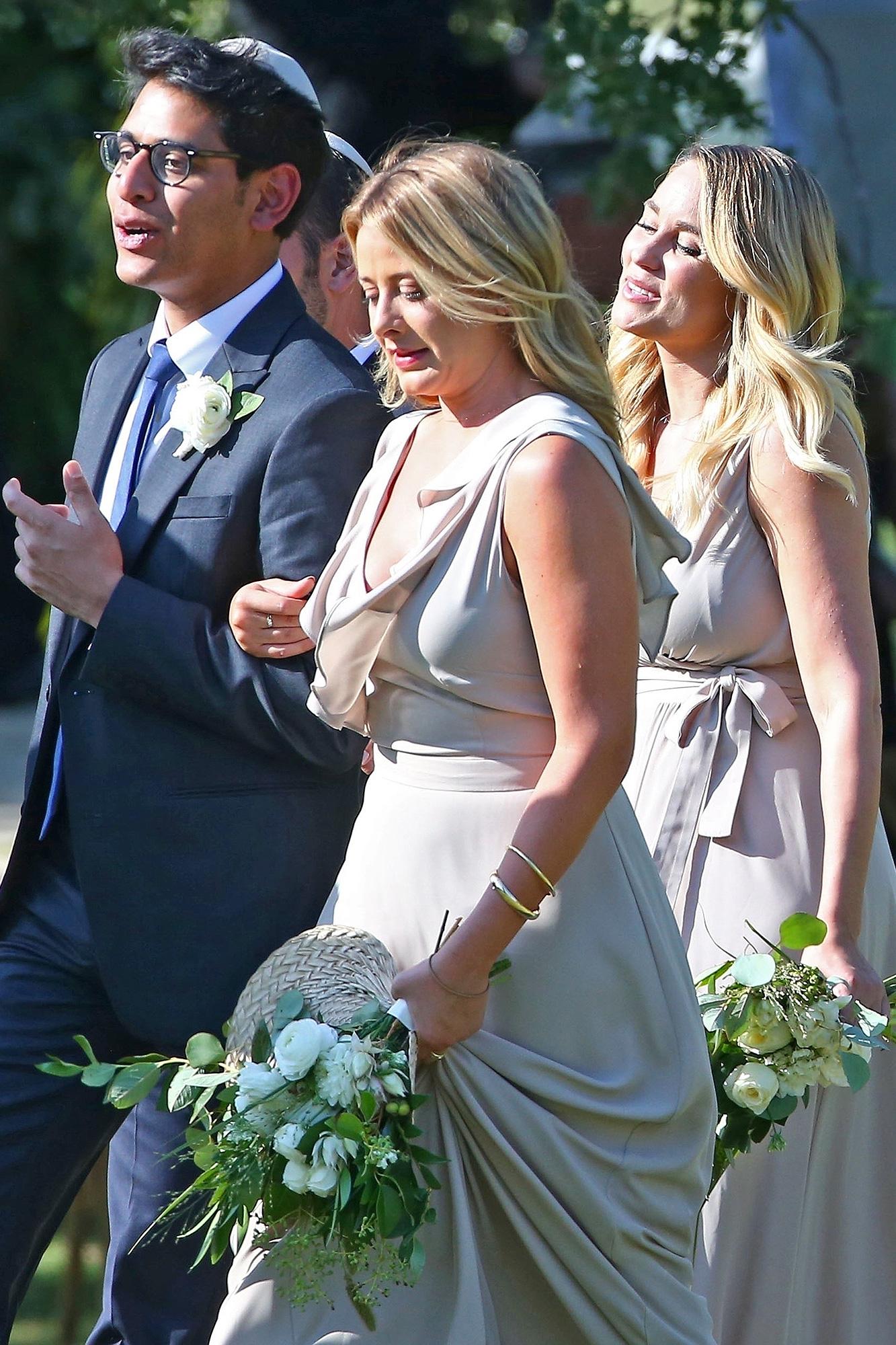 Lo Bosworth, Lauren Conrad, bridesmaid, wedding