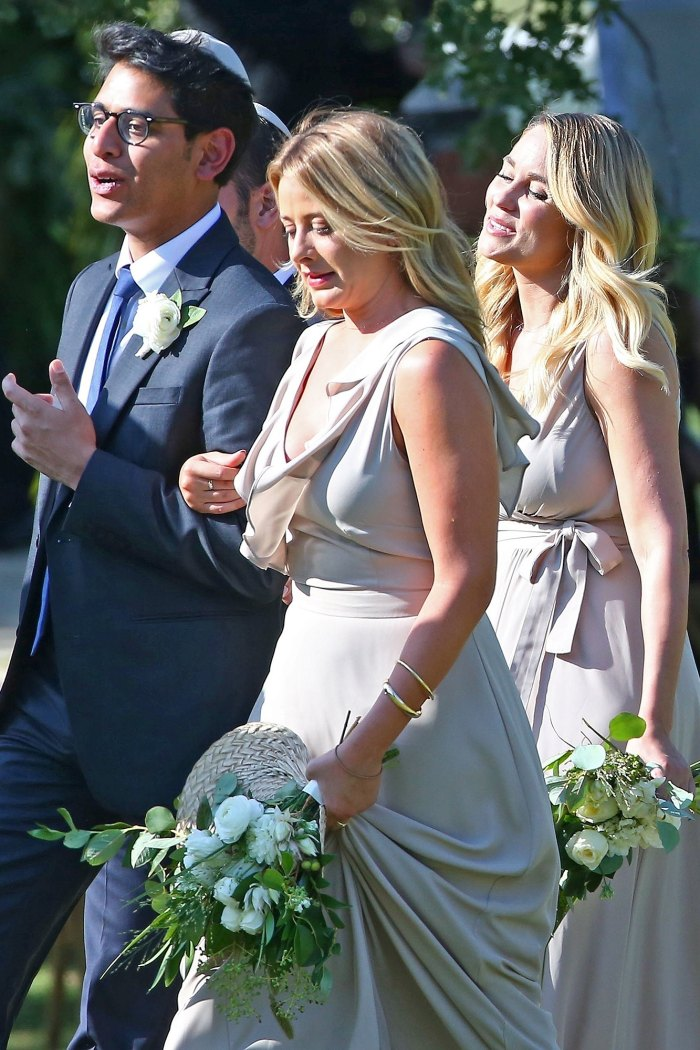 Lauren Conrad Is A Beautiful Bridesmaid Six Weeks After Giving Birth