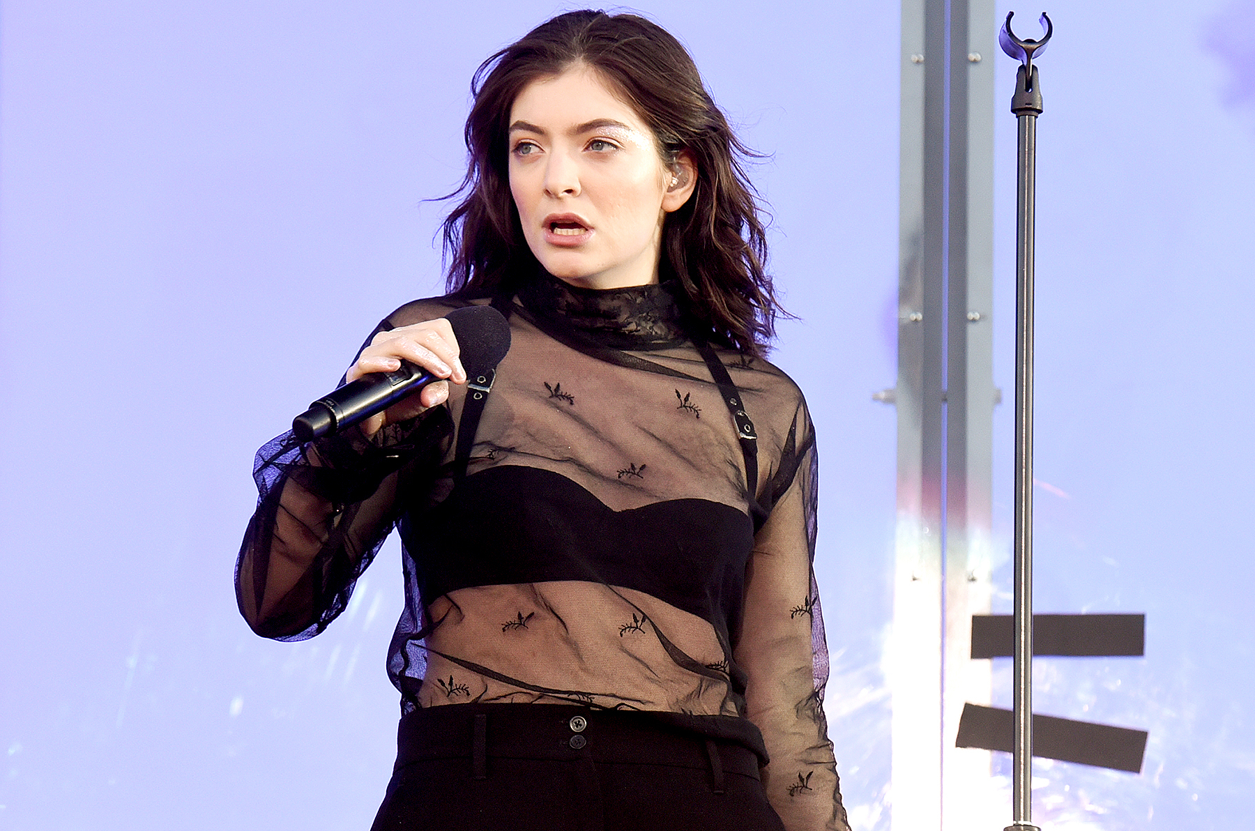 Lorde performs onstage during 2017 Governors Ball Music Festival - Day 1 at Randall's Island on June 2, 2017 in New York City.