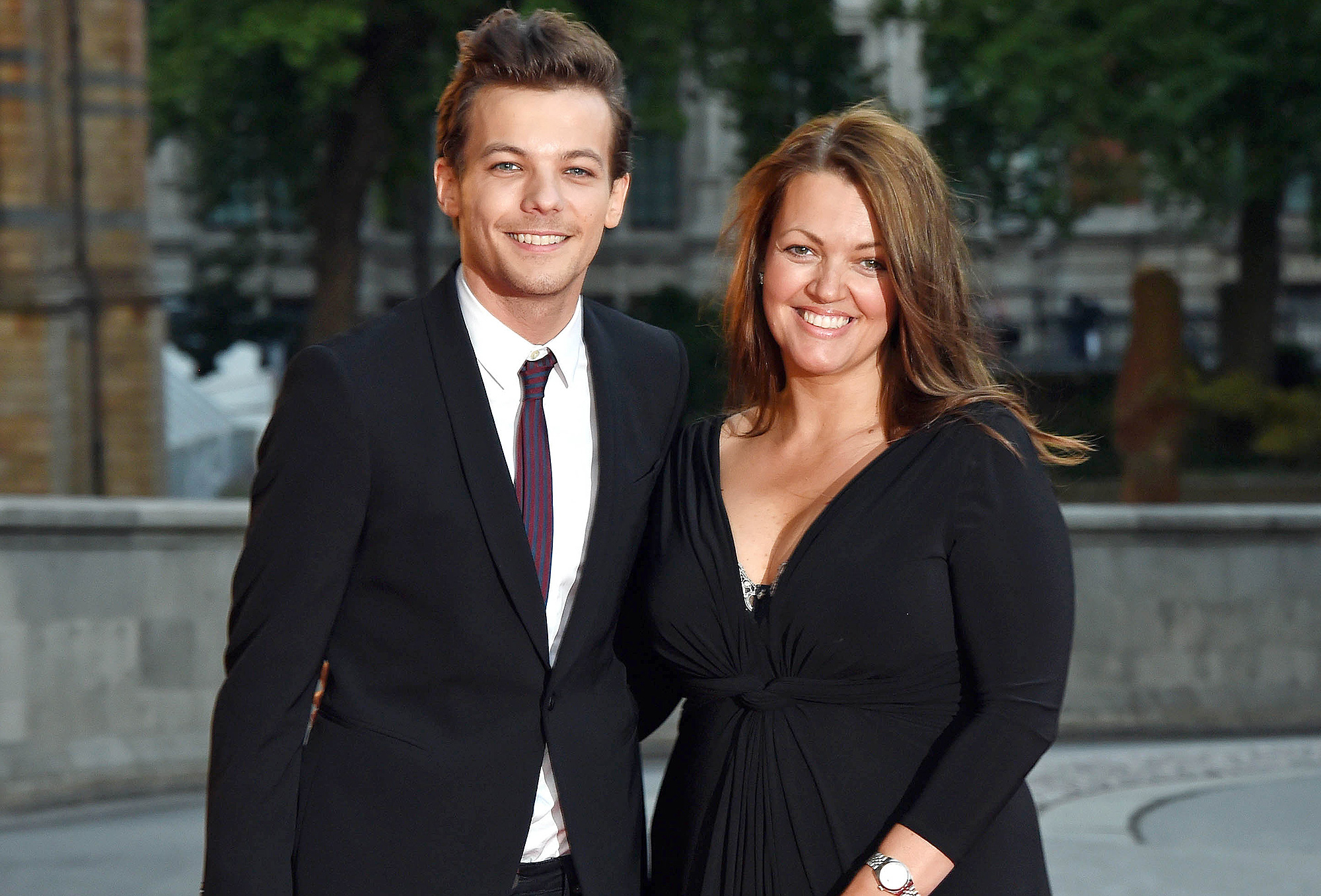 Louis Tomlinson and Johannah Poulston