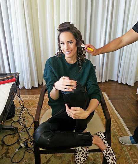 Louise Roe music and makeup