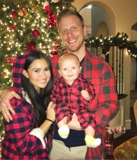Sean and Catherine Lowe Bachelor Baby