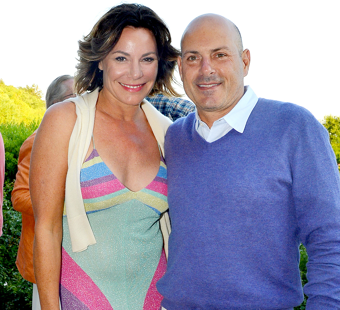 Countess Luann de Lesseps and Thomas D'Agostino attend Tom & Diane Tuft and Christina Cuomo Celebrate the Launch of Jay McInerney's New Novel