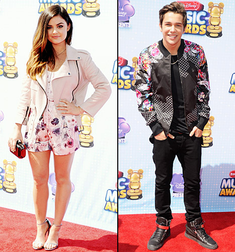 lucy hale and austin mahone