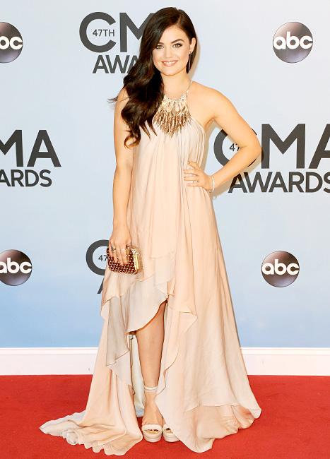 Lucy Hale - CMA Awards