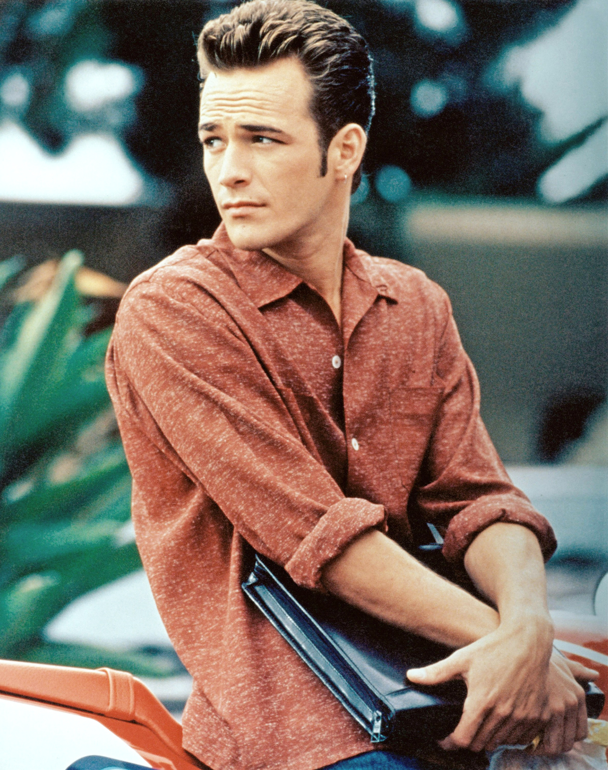Luke Perry as Dylan McKay in Beverly Hills 90210