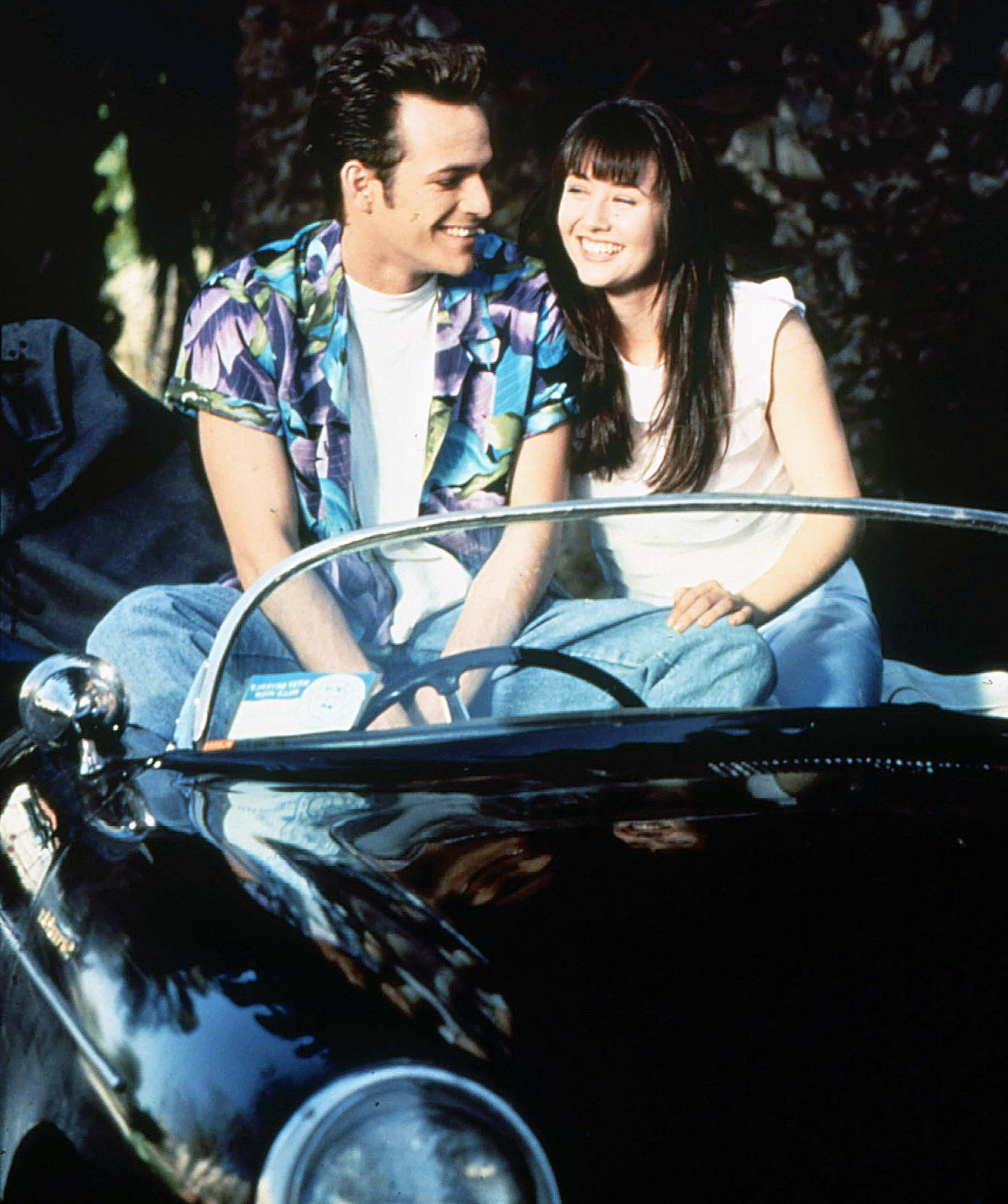 Luke Perry Shannen Doherty Beverly Hills 90210