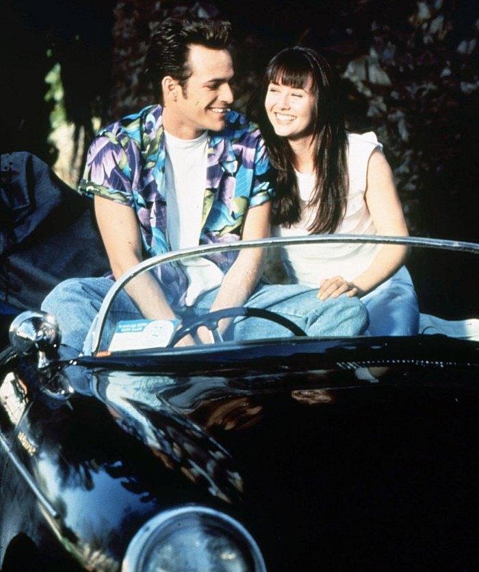 Luke Perry Shannen Doherty Beverly Hills 90210