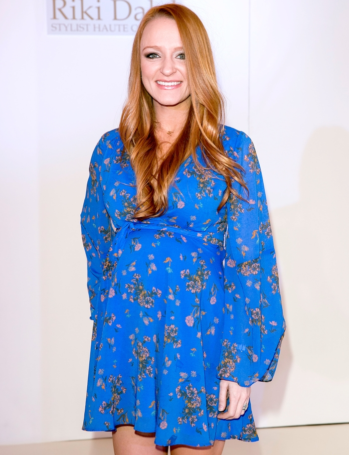 Teen Mom U2019s Maci Bookout Reveals The Name Of Her Third Baby