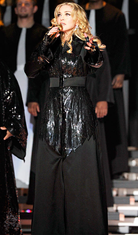 madonna prayer outfit
