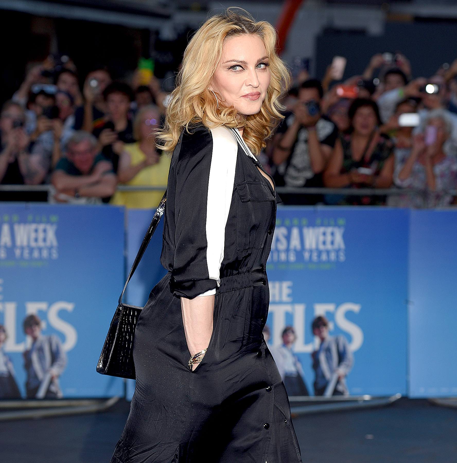 Madonna arrives for the World premiere of