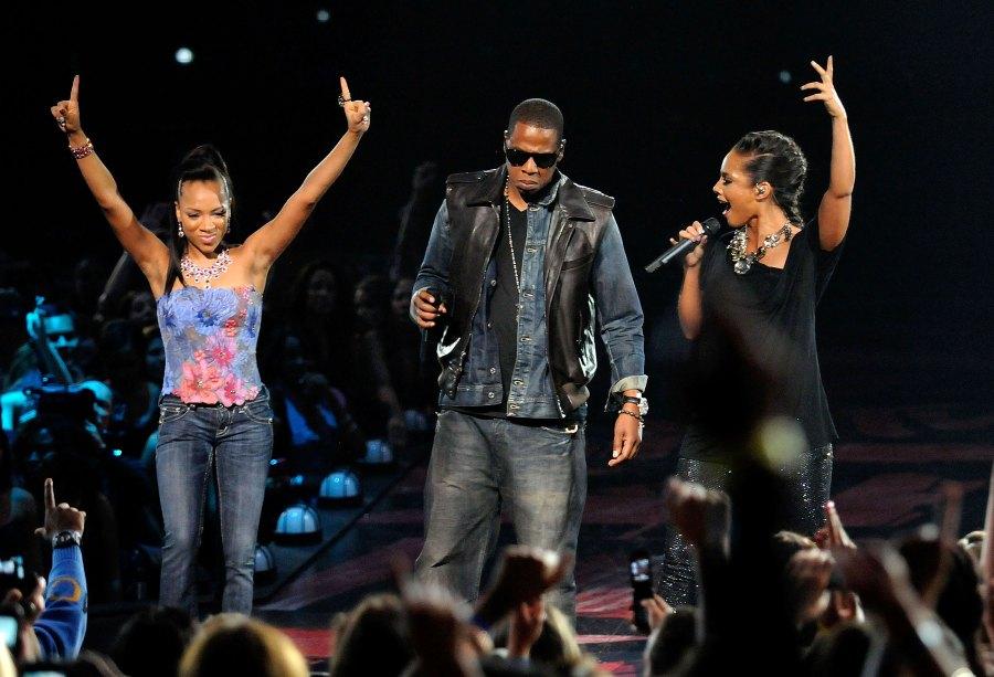 Lil Mama, Jay-Z; Alicia Keys