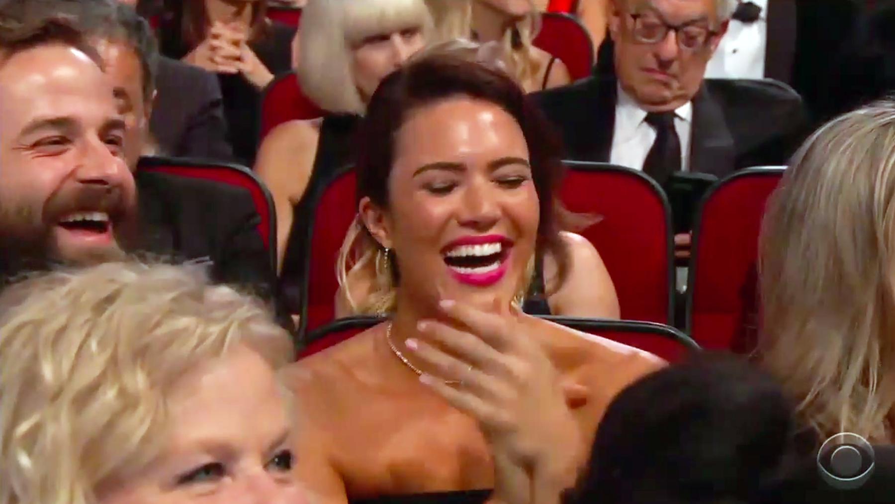Mandy Moore Taylor Goldsmith Emmys 2017