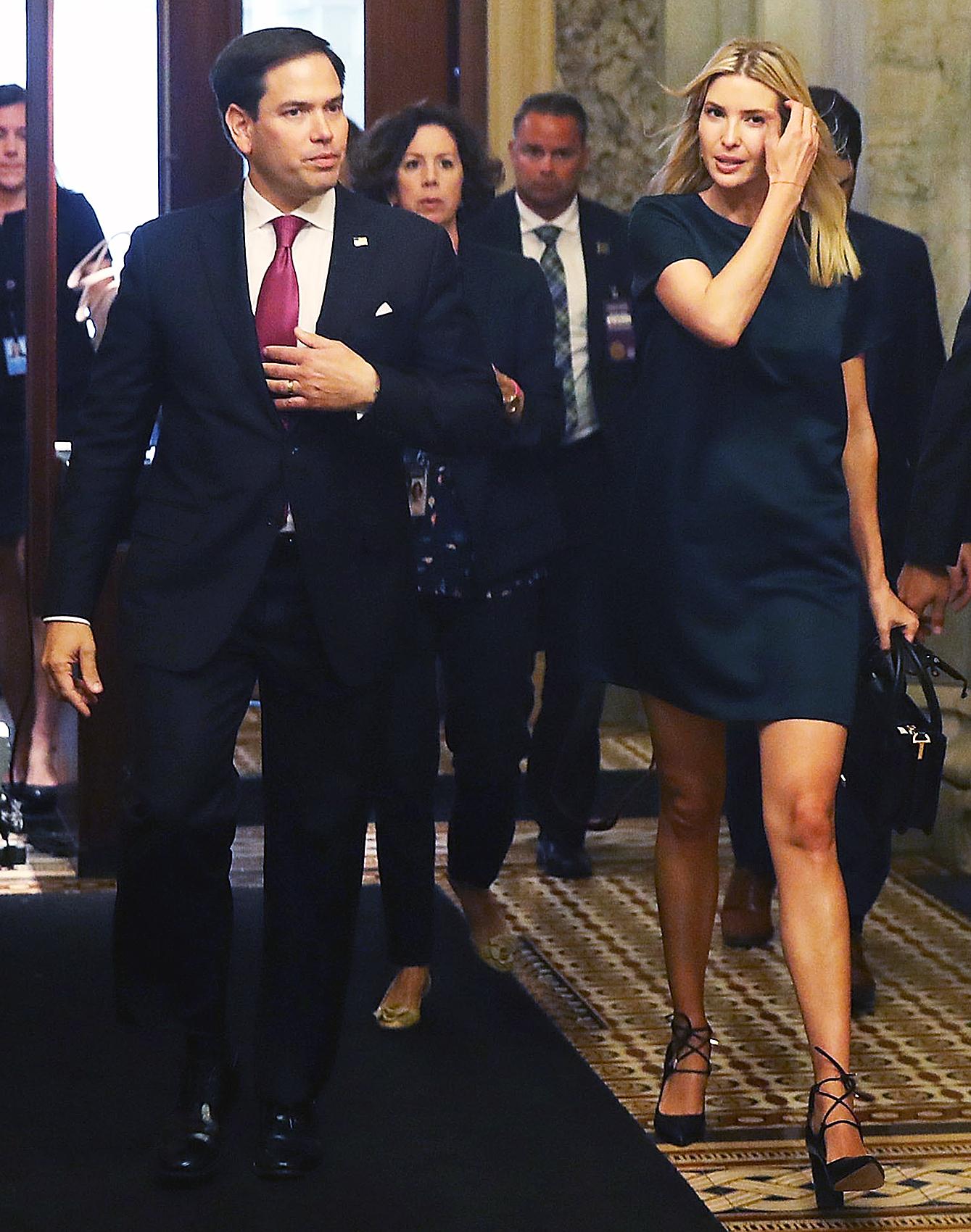 Marco Rubio Ivanka Trump