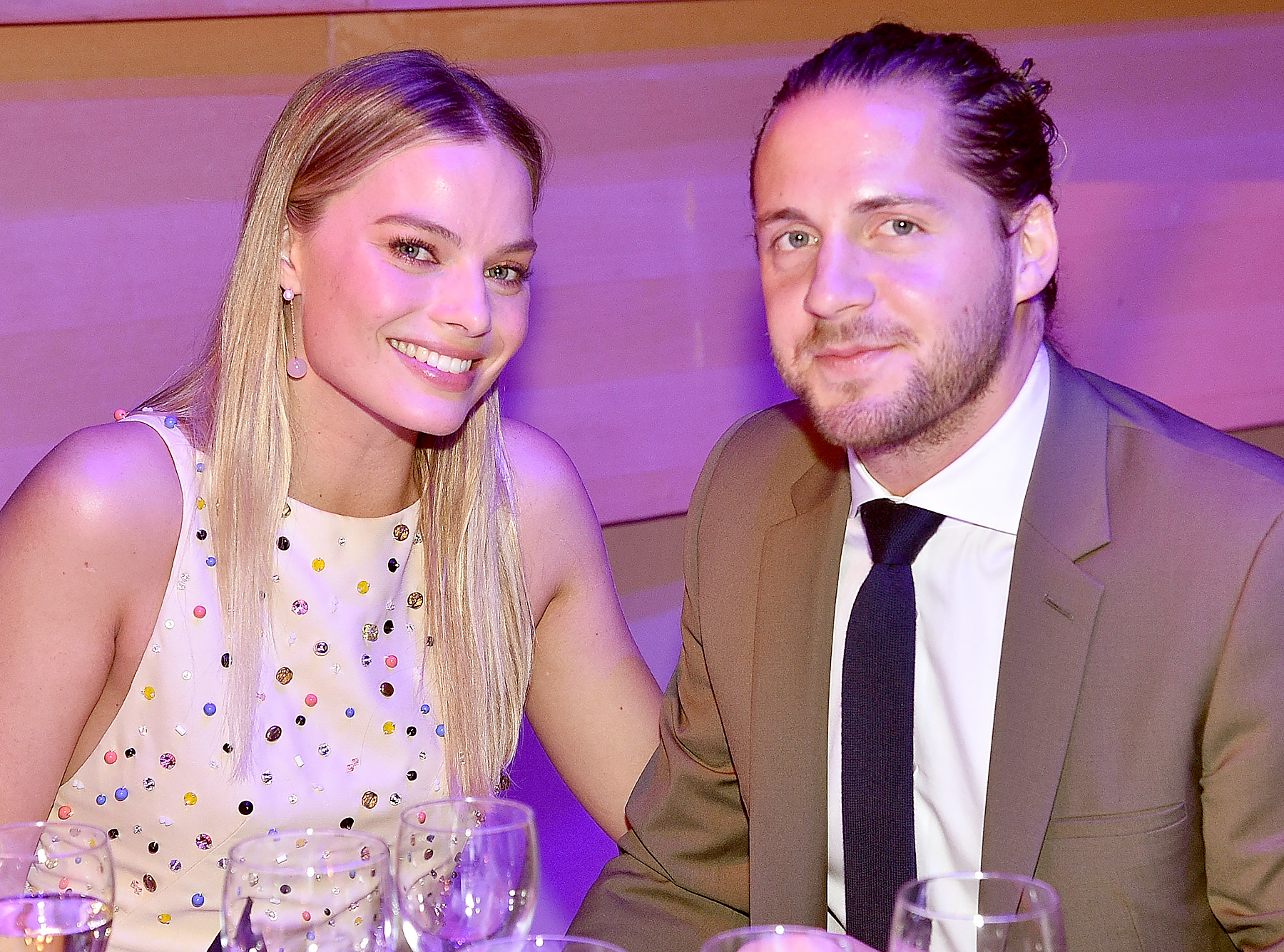 ackerly dating In a november 2017 interview with vogue australia, robbie noted that married  life with ackerley is not much different than when they dated.