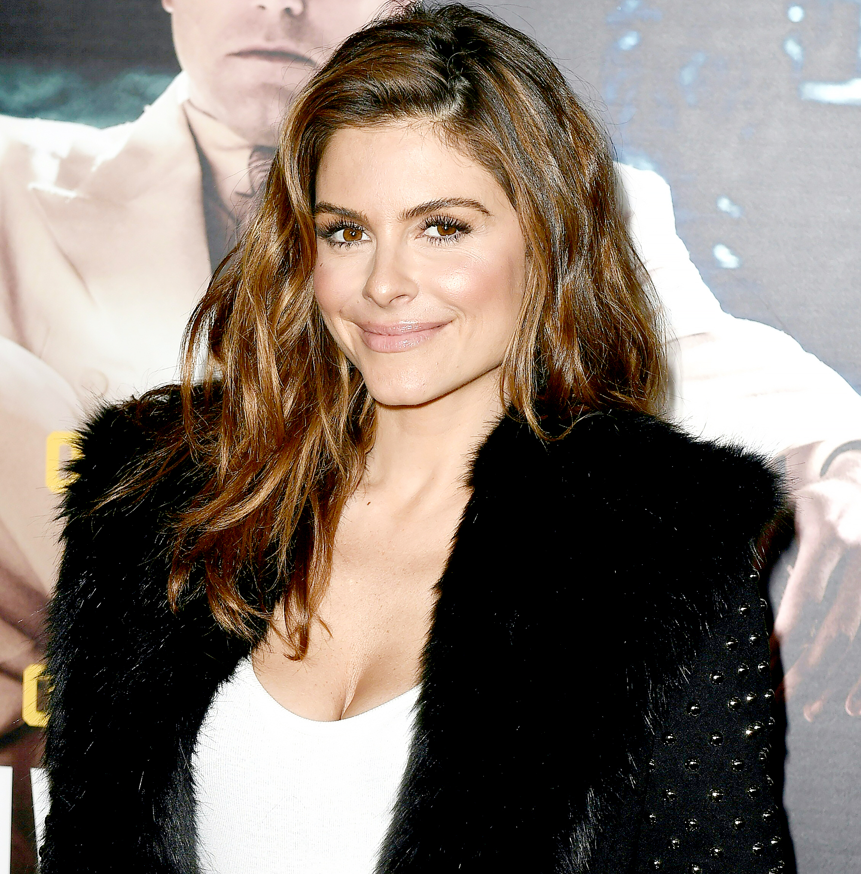 """Maria Menounos arrives for the world premiere of Warner Bros. """"Live By Night,"""" January 9, 2017 at the TCL Chinese Theater in Hollywood, California."""