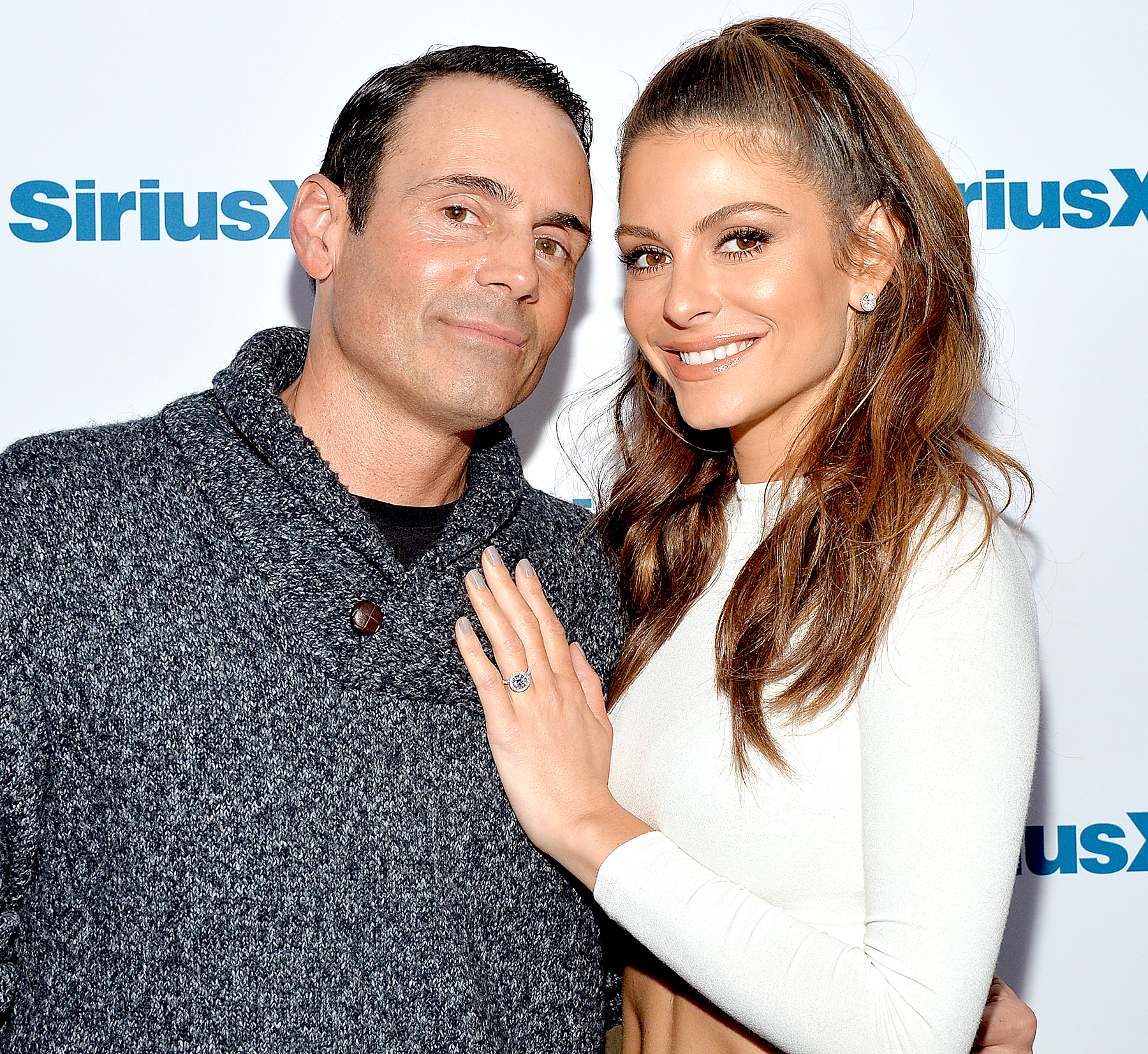 Maria Menounos and Keven Undergaro get engaged on