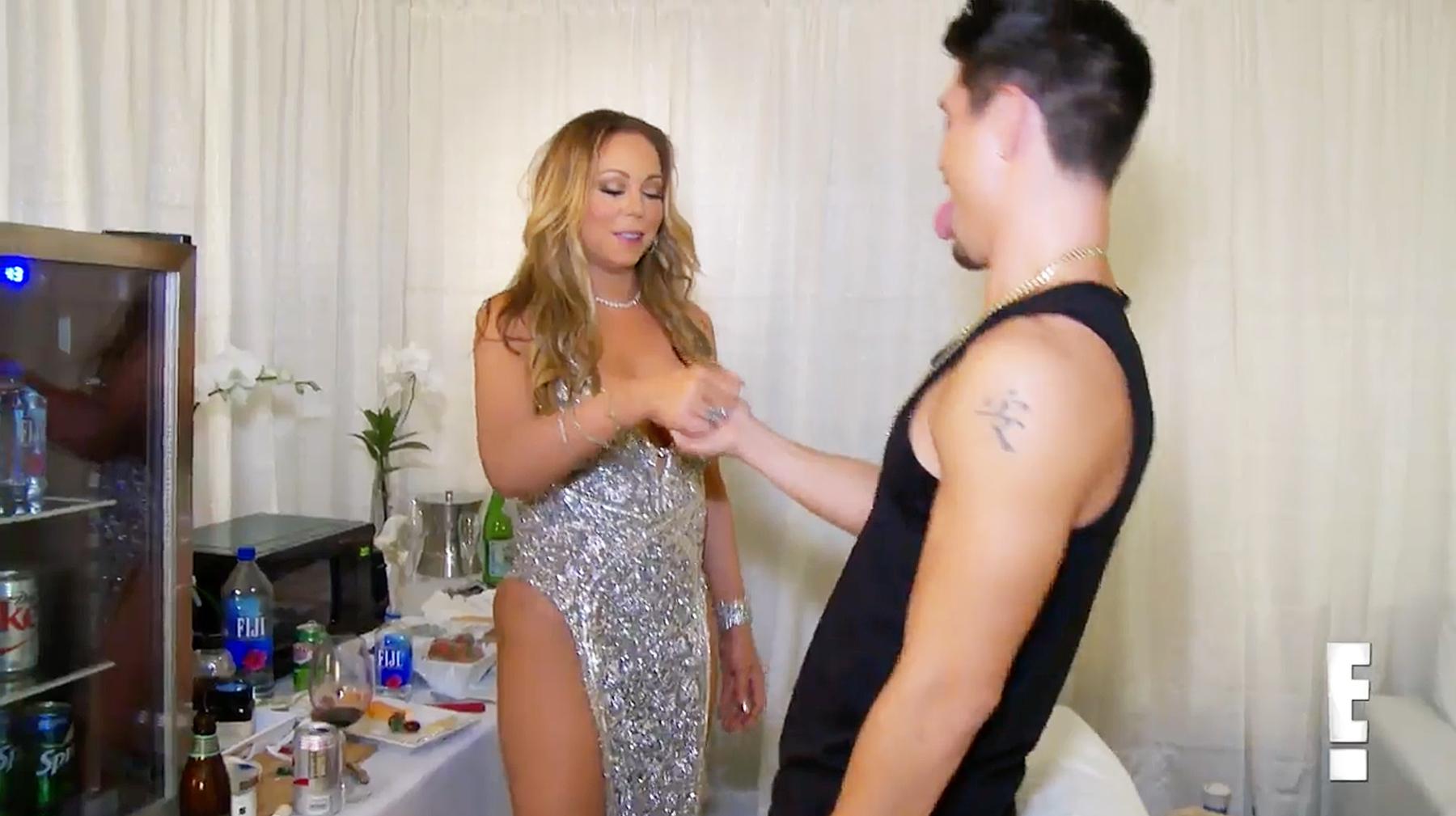 Mariah Carey Bryan Tanaka handshake Mariah's World