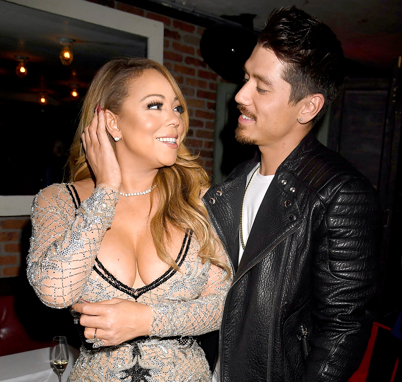 Mariah Carey and choreographer Bryan Tanaka attend the  Mariah s World   viewing party at Catch. Mariah Carey s New Guy Bryan Tanaka Breaks Silence   Loves  Her