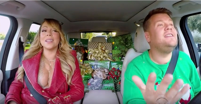 Mariah Carey and James Corden sing 'All I Want for Christmas Is You'
