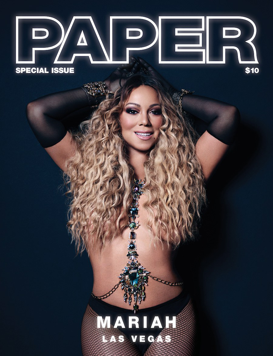 Mariah Carey for Paper Magazine