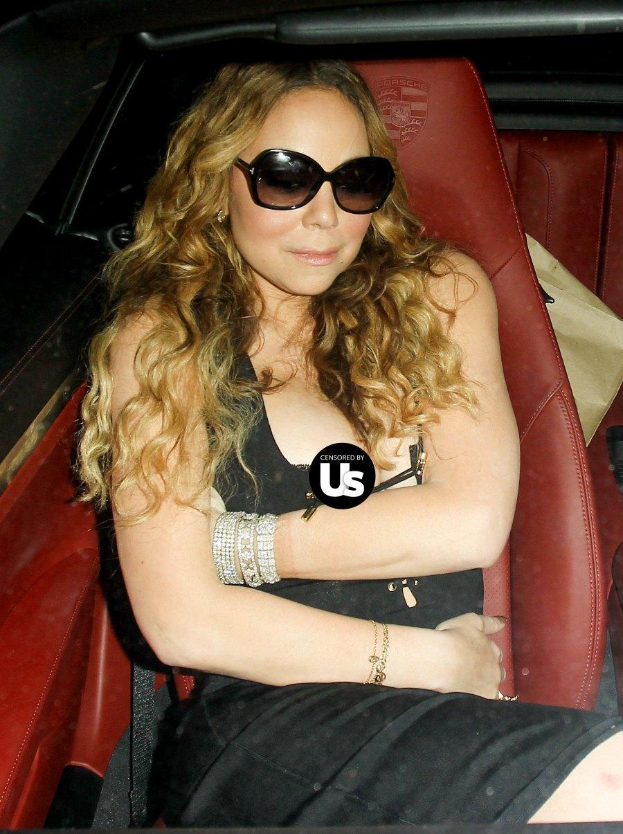 Mariah Carey suffers wardrobe malfunction   InstaMag