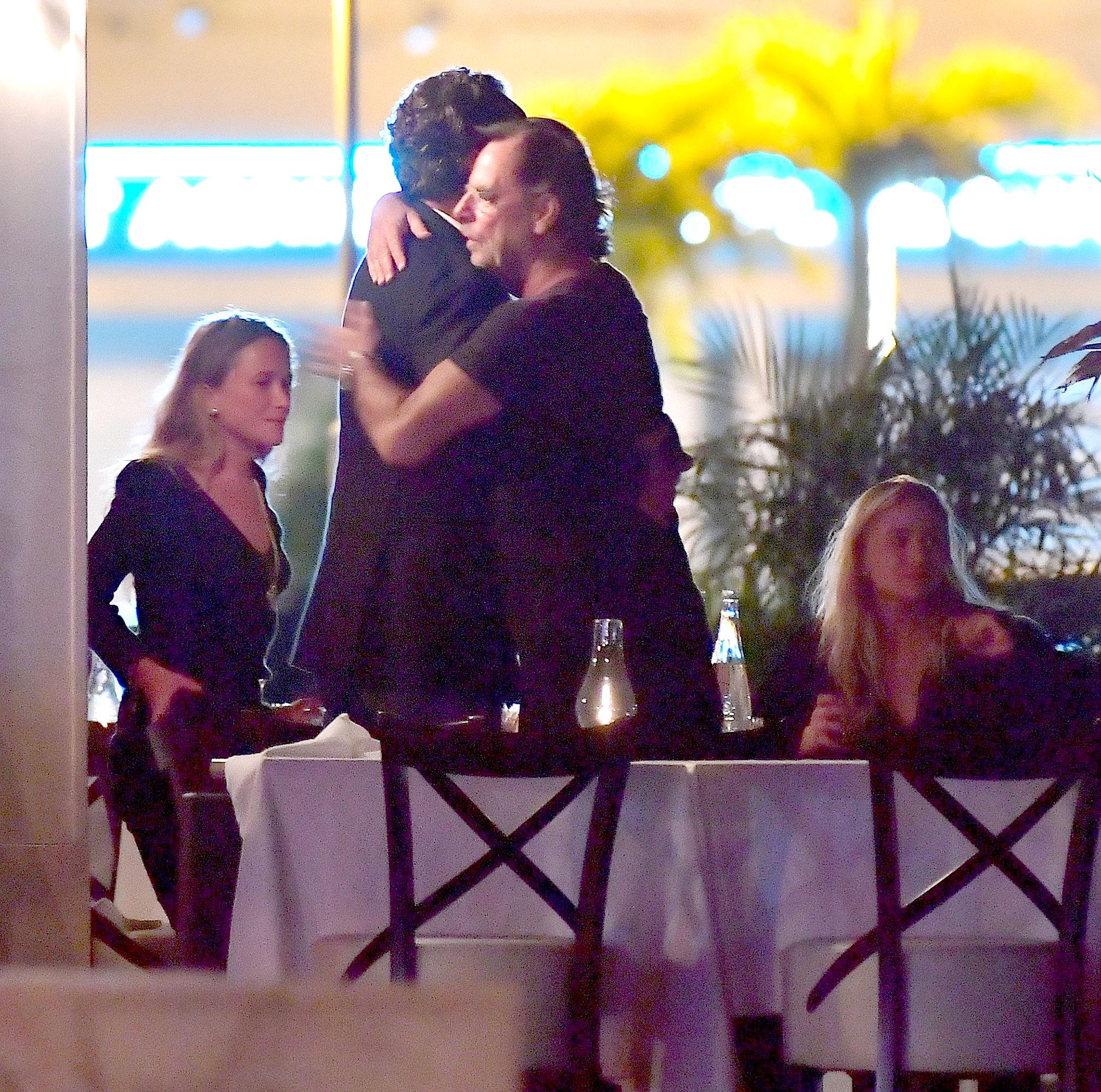 Mary Kate Olsen, Olivier Sarkozy, Richard Sachs and Ashley Olsen