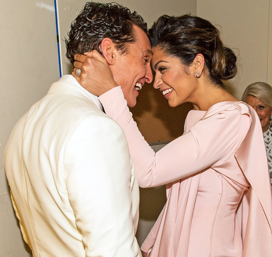 Matthew McConaughey and Camila Alves proposal