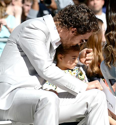 Matthew McConaughey and Vida