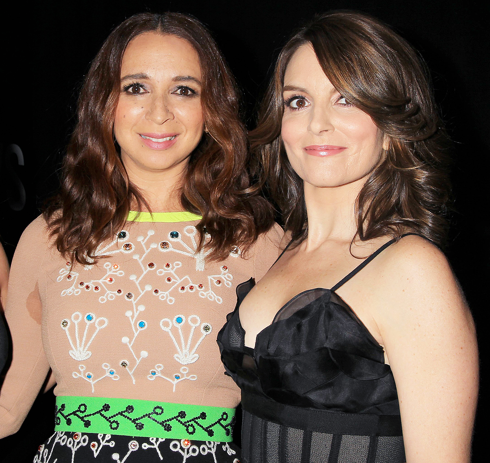 Maya Rudolph and Tina Fey