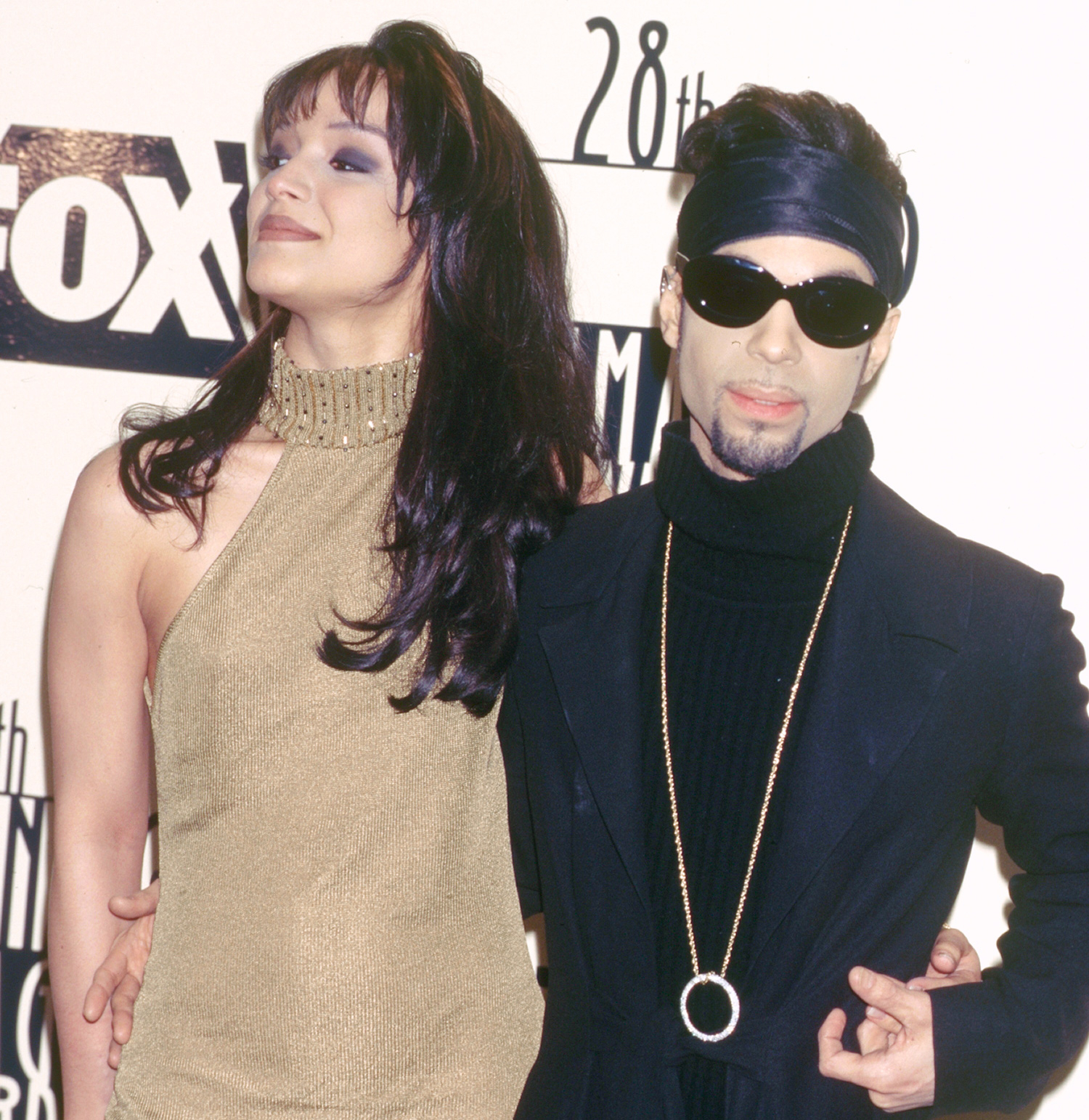 Prince and his wife Mayte Garcia