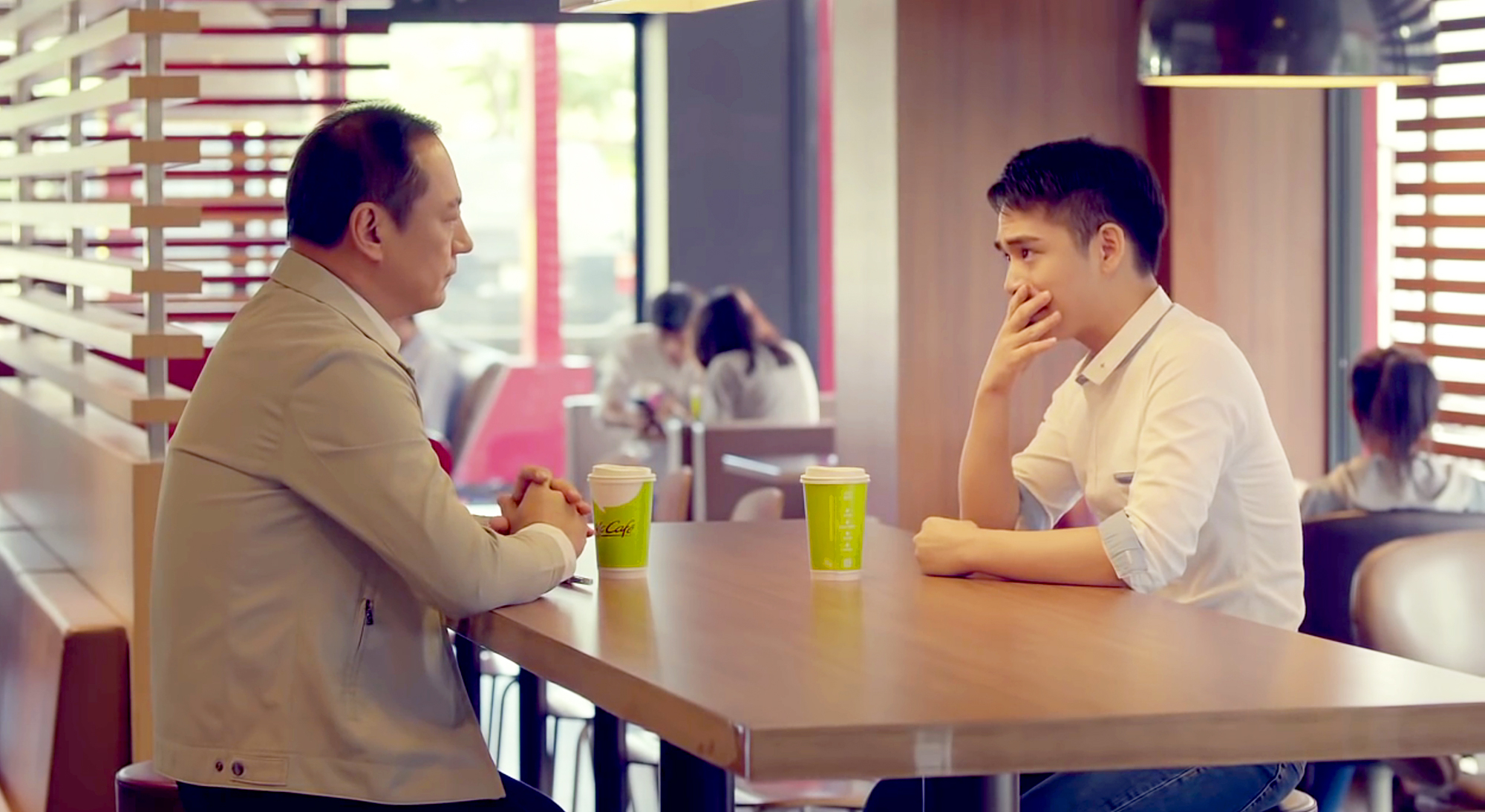 Son Comes Out as Gay to His Dad in Taiwanese McDonald's Ad