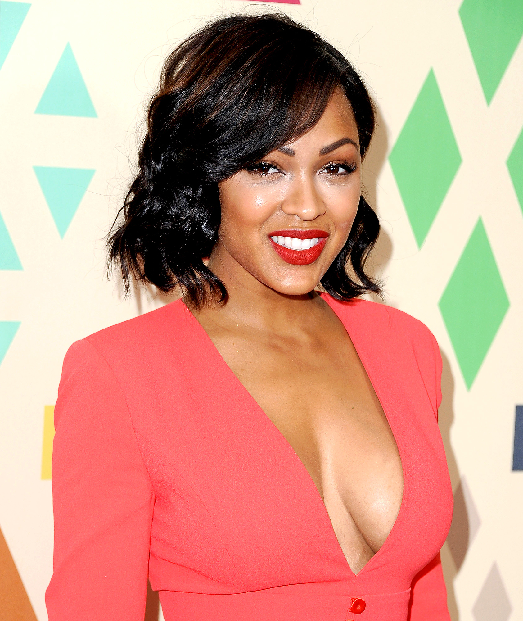 Meagan Good arrives at the 2015 Summer TCA Tour FOX All-Star Party at Soho House on August 6, 2015 in West Hollywood, California.