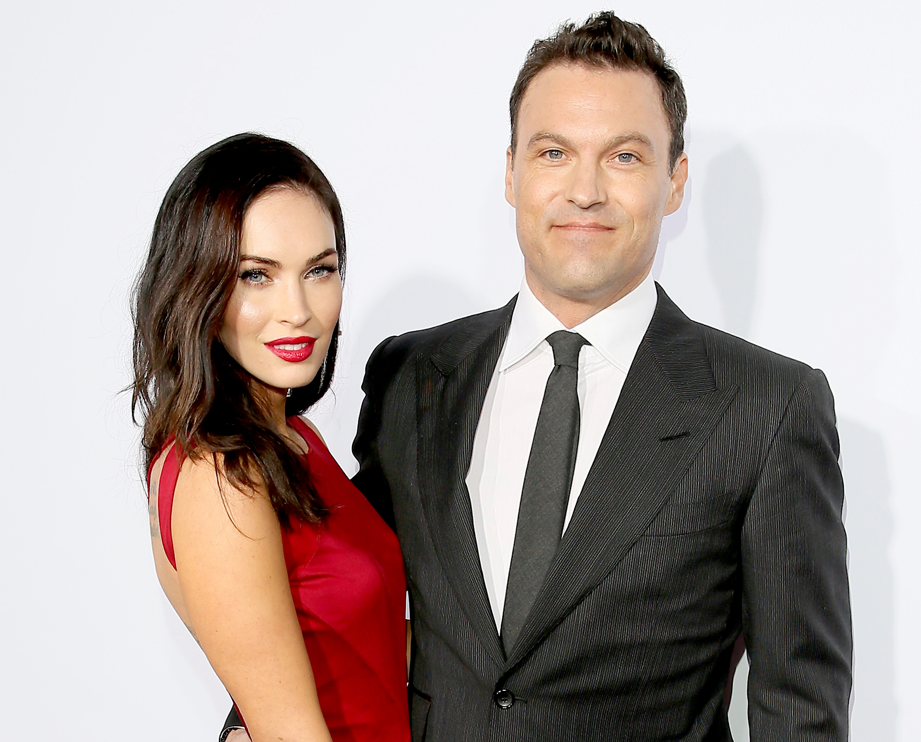 Megan Fox and Brian Austin Green attend Ferrari's 60th Anniversary in the USA Gala at the Wallis Annenberg Center for the Performing Arts on October 11, 2014 in Beverly Hills, California.
