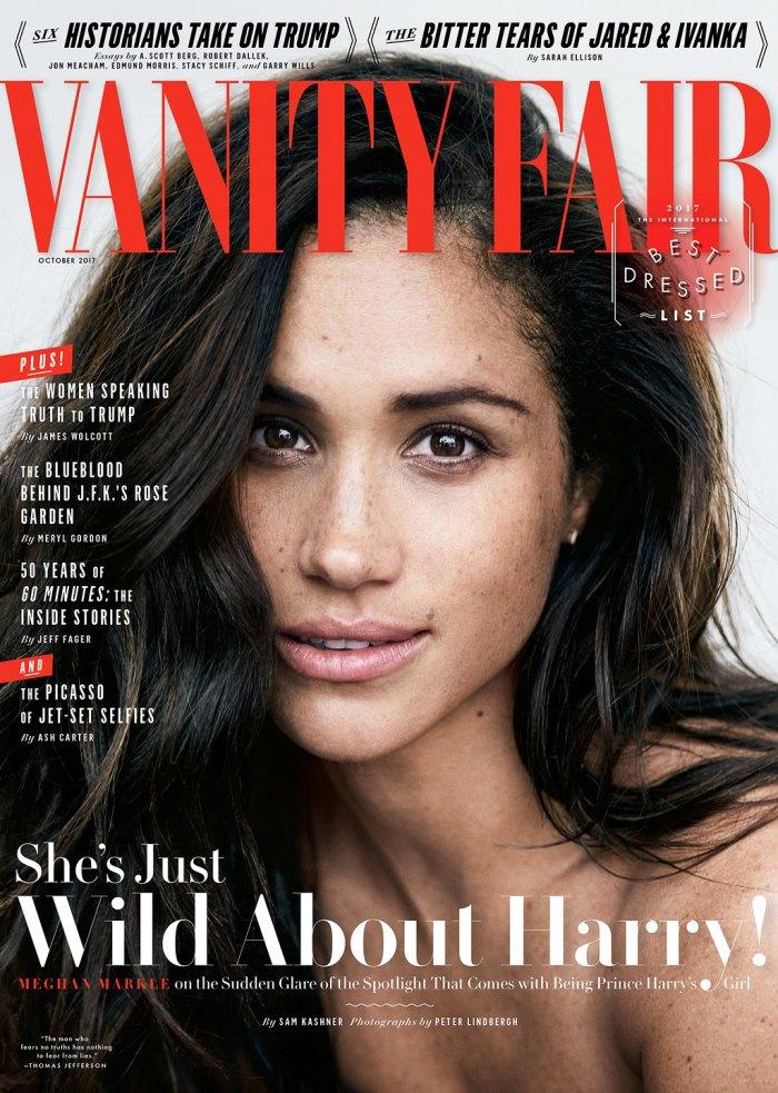 Meghan Markle Vanity Fair cover