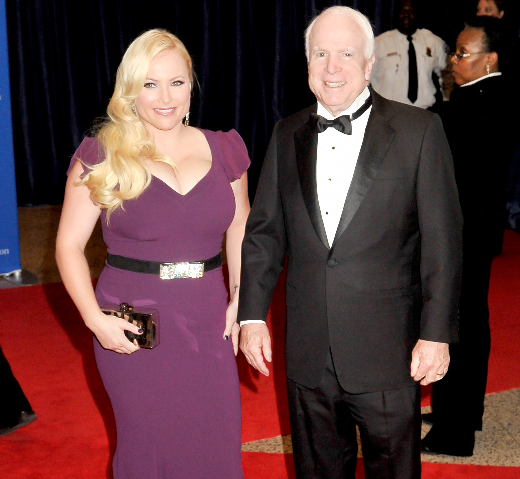 Meghan McCain and John McCain attend the 100th Annual White House Correspondents' Association Dinner at the Washington Hilton on May 3, 2014 in Washington, DC.