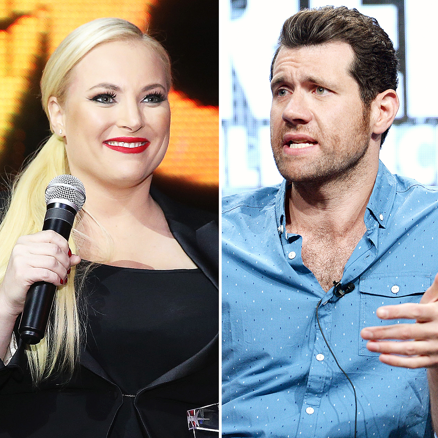 2017 Golden Globes: Meghan McCain, Billy Eichner Fight On