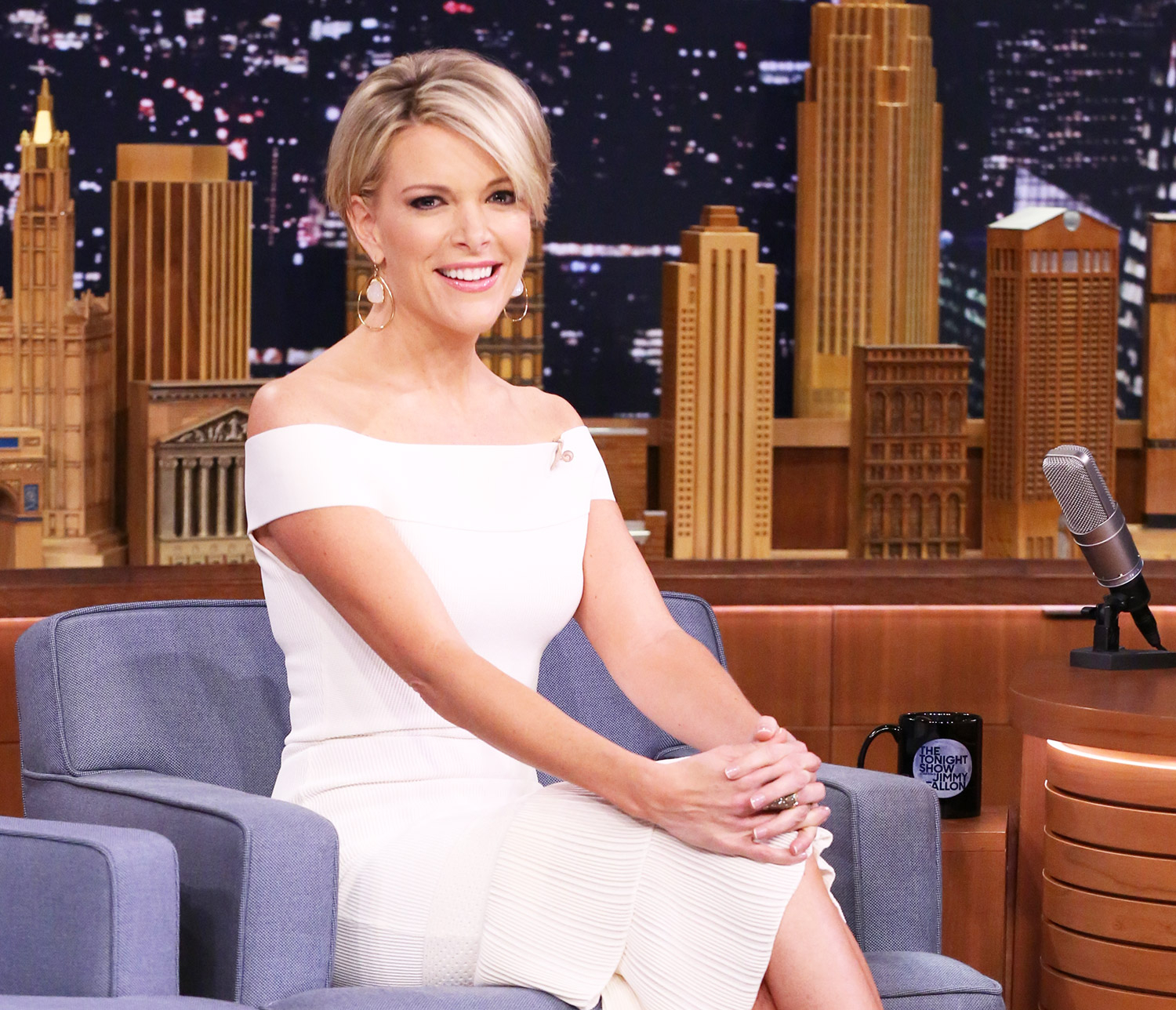 Megyn Kelly during an interview on May 12, 2016