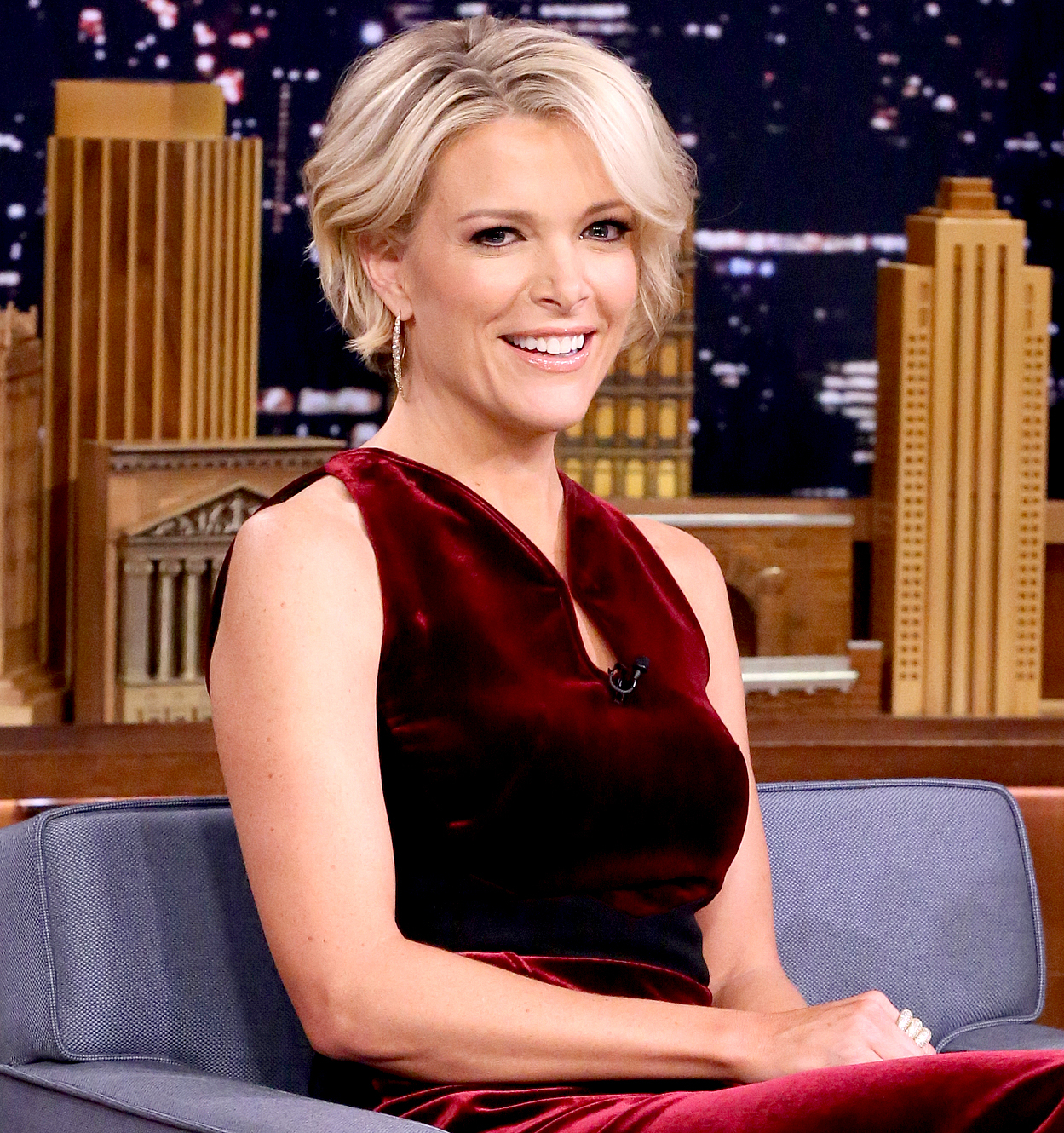 Megyn Kelly during an interview on November 18, 2016.