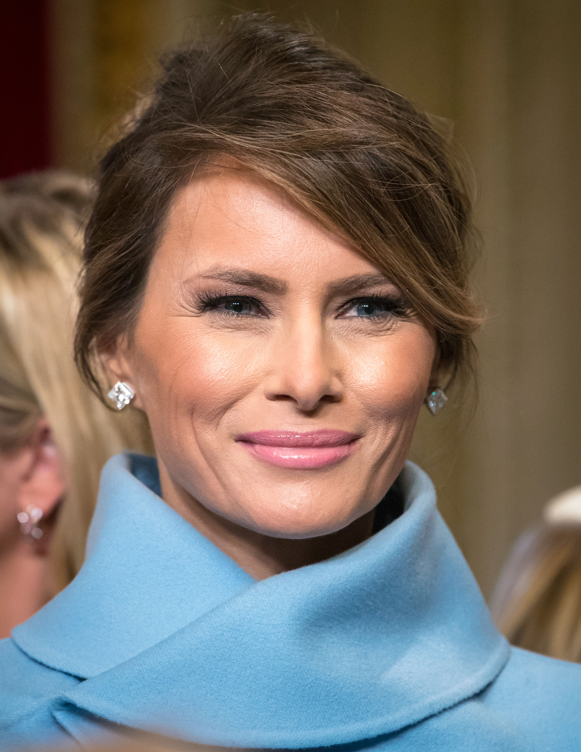 What Makeup Products Melania Trump Wore On Inauguration Day