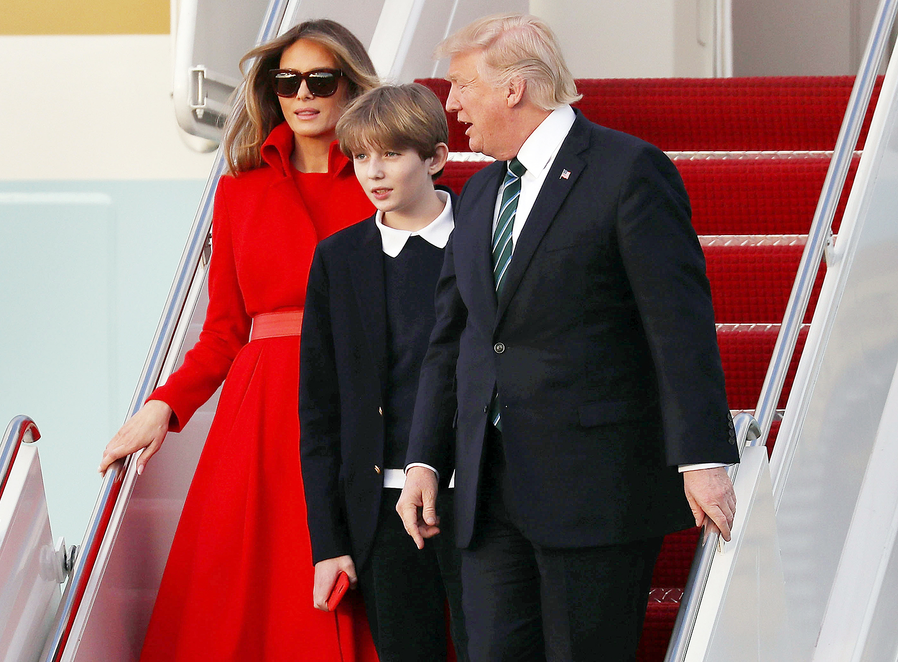 Melania Trump Barron Trump Donald Trump