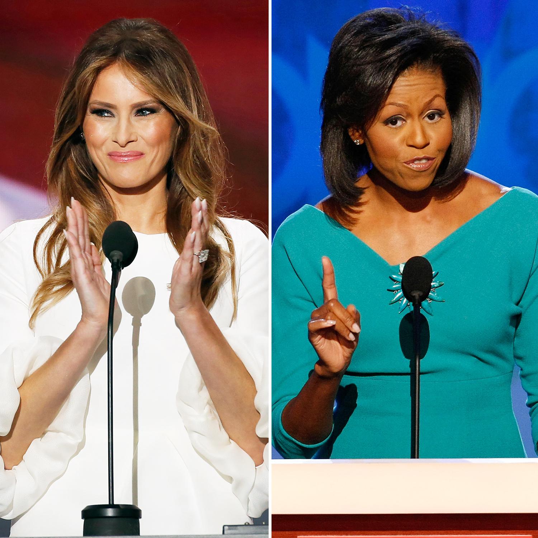 Melania Trump Michelle Obama plagiarism