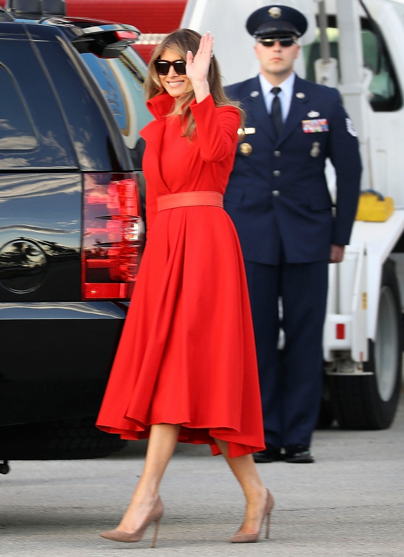 157e60792422 Melania Trump s Most Stylish First Lady Moments