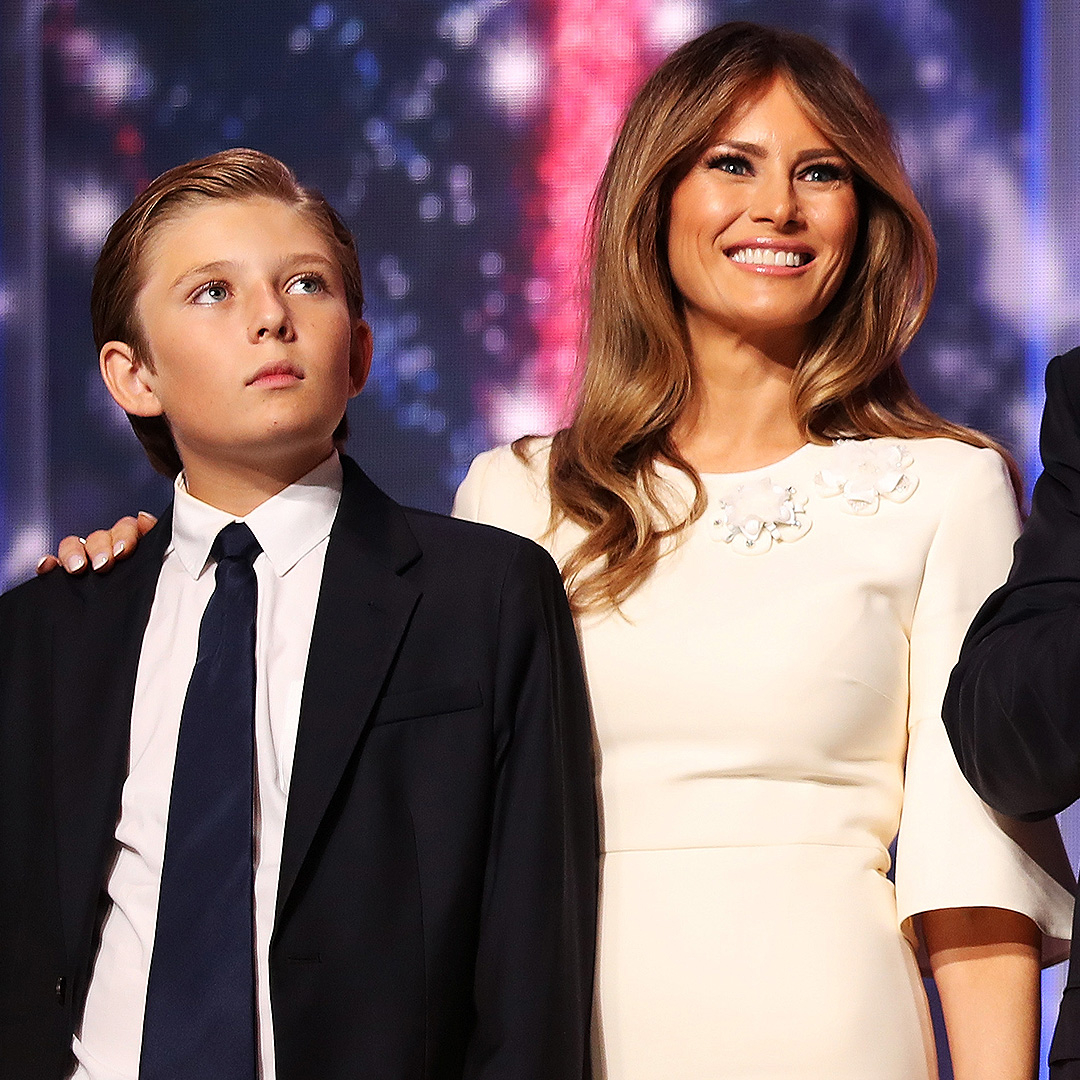 Melania Trump Talks Son Barron: He's the 'Priority for Now'