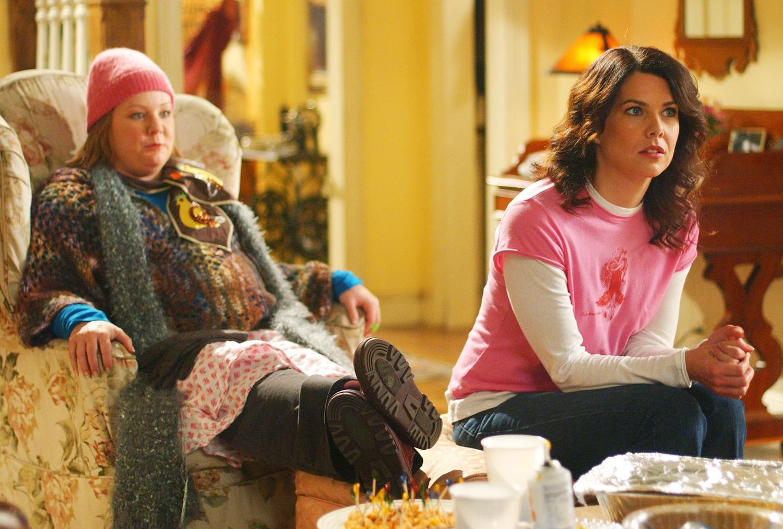 Melissa McCarthy as Sookie and Lauren Graham as Lorelai