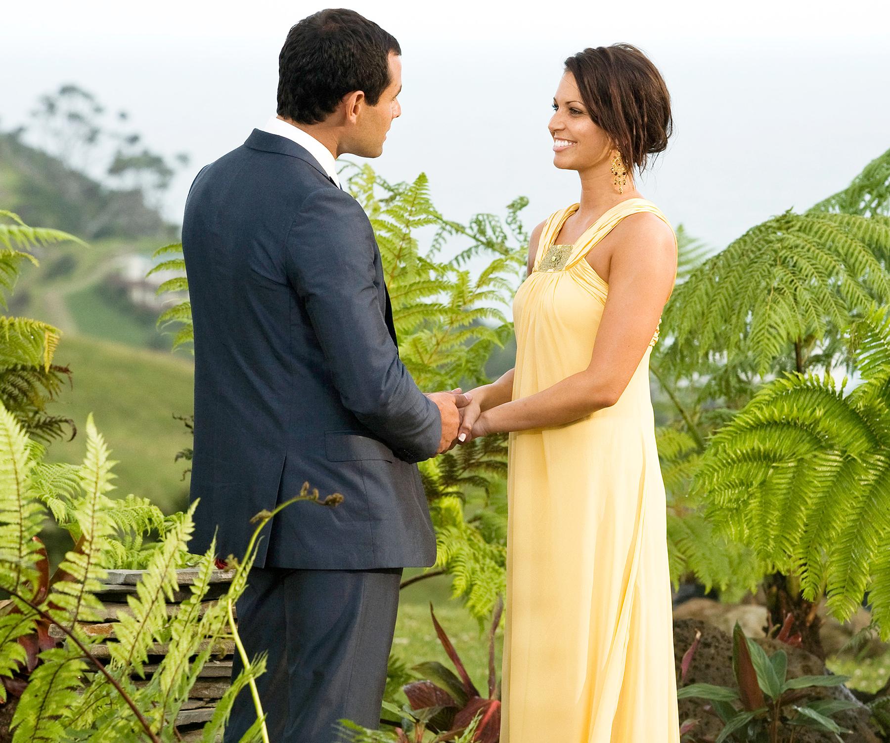 Jason Mesnick and Melissa Rycroft on The Bachelor