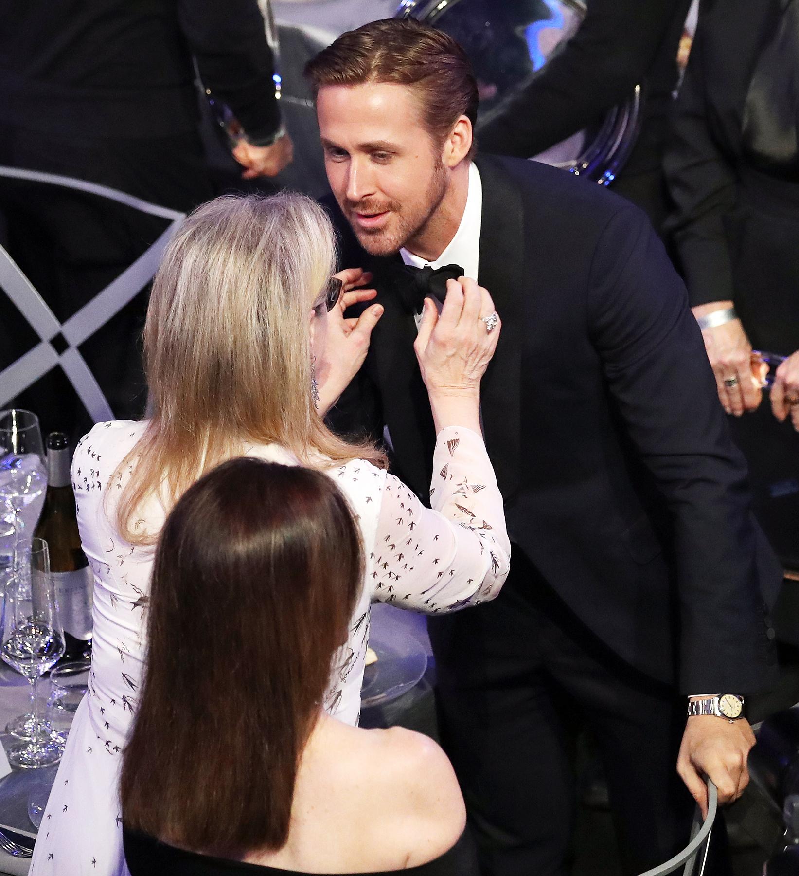Meryl Streep Ryan Gosling SAG Awards