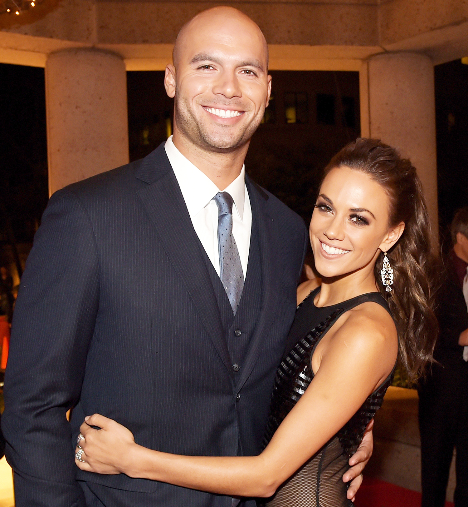 Michael Caussin and Jana Kramer